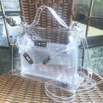 Load image into Gallery viewer, EG070 Fashion brand designer PVC transparent handbags