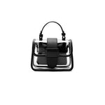 Load image into Gallery viewer, EG073 Latest trendy ladies pvc crossbody bags clear handbag chain