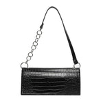 Load image into Gallery viewer, EG077 Crocodile pattern luxury crossbody shoulder handbag underarm bag