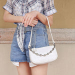 Load image into Gallery viewer, EG082 Popular design women armpit baguette shoulder bag mini handbags