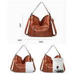 Load image into Gallery viewer, EG088 New 2020 classic design soft pu leather hobo bags women handbag