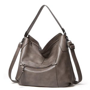 EG088 New 2020 classic design soft pu leather hobo bags women handbag