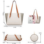 Load image into Gallery viewer, Eg108 Wholesale New Design Cheap 3 Pcs Hand Bag Sets 3 In 1 Purses And Handbags Women