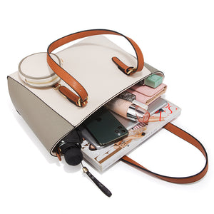 Eg108 Wholesale New Design Cheap 3 Pcs Hand Bag Sets 3 In 1 Purses And Handbags Women