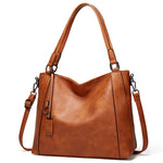 Load image into Gallery viewer, EG126 Fashion vegetarian PU leather large capacity shoulder handbag