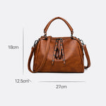 Load image into Gallery viewer, EG130 Casual elegant pu leather crossbody handbags women custom hand bags with logo