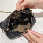 Load image into Gallery viewer, EG163 Classic design polyester chain round purses handbag sling bags for women
