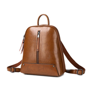 EGL007 New casual luxury high quality genuine leather women backpack 2020