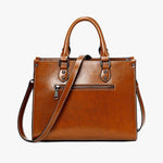 Load image into Gallery viewer, EGL009 New arrival casual shoulder hand bag real leather handbags for women luxury