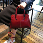 Load image into Gallery viewer, EGL014 New 2020 fashion high quality cow leather casual handbags for women