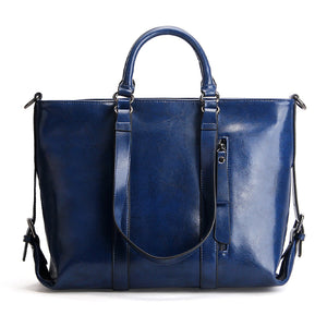 EGL048 New arrival 2020 office low moq women big handbags genuine leather