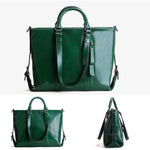 Load image into Gallery viewer, EGL048 New arrival 2020 office low moq women big handbags genuine leather