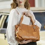 Load image into Gallery viewer, EGL054 Multifunctional durable leather womens cross body bags large handbags for women