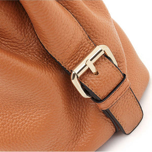 EGL054 Multifunctional durable leather womens cross body bags large handbags for women