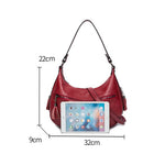 Load image into Gallery viewer, EGL061 Fashion elegant genuine cow leather hobo bags women handbags 2020