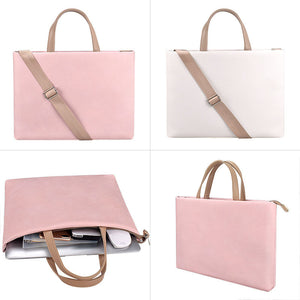 EGLT023 Business waterproof fashionable computer bag women pu leather laptop bags