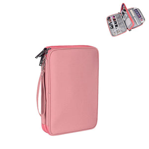 EGLT033 Multifunction nylon electronics accessories travel storage bag cable organizer bag