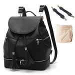 Load image into Gallery viewer, EGM003 New 2020 mummy baby backpack pu leather waterproof diaper bag