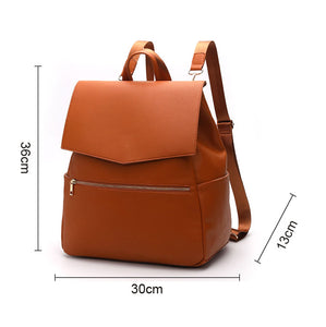 EGM005 Custom made waterproof pu leather baby nappy bag 2020 diaper bag backpack