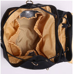 Load image into Gallery viewer, EGM007 Custom made travel pu leather baby backpack diaper bags for mother