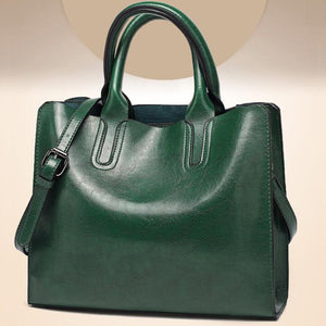 EM411 Ladies pu leather shoulder tote bags fashion women handbag