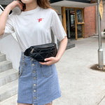 Load image into Gallery viewer, EM536 New Lozenge chest bag fashion ladies waist bag