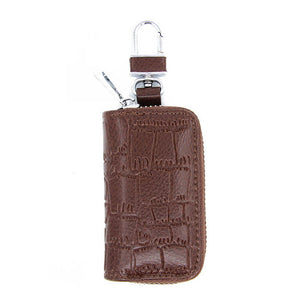 GLK007 Wholesale high quality genuine leather car key case