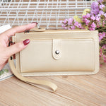 Load image into Gallery viewer, W406 Wholesale custom logo multi-card Phone money bag women long purse zipper luxury wallet
