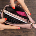 Load image into Gallery viewer, LCB010 Fashion cute long women phone purse leather travel wallets
