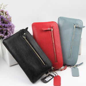LCB014 Fashion design cell phone womens clutch bags ladies purse wallet leather