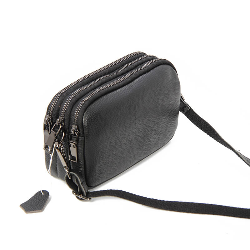 LCB016 Fashion casual real leather ladies sling bags crossbody bag women