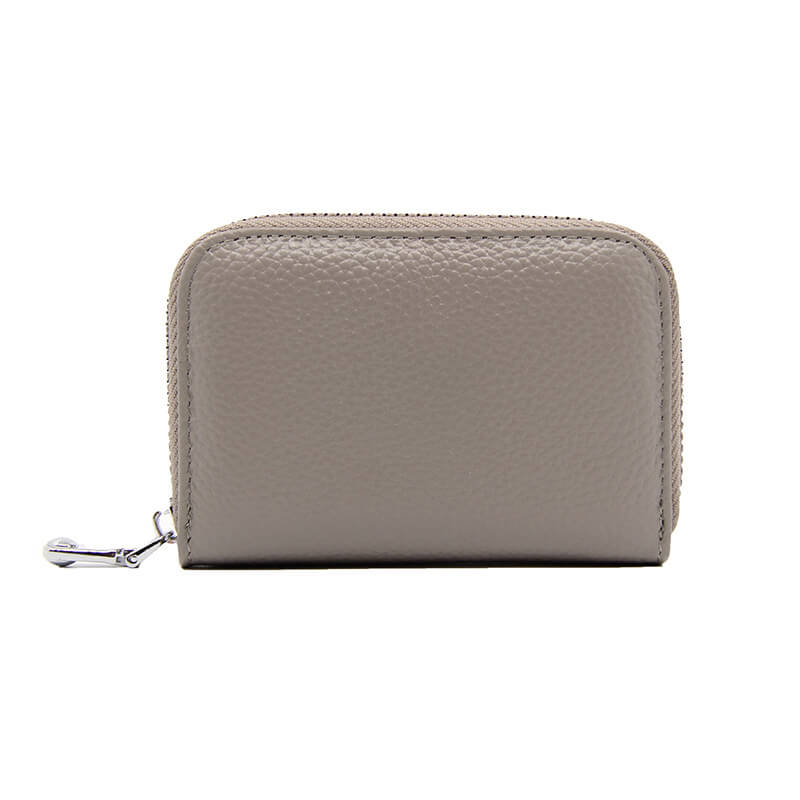LCH001 NEW 2020 Multi-card genuine leather zipper coin bags custom credit card holder rfid