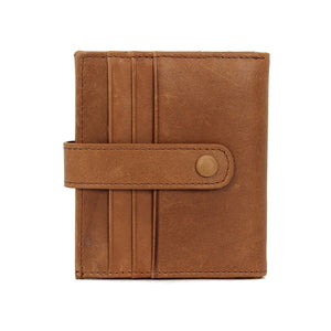 LCH016 New 2020 fashion 3 fold vintage men leather wallet