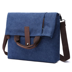 MCP020 Wholesale custom LOGO waterproof canvas shoulder bags fashion crossbody bag men