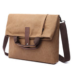 Load image into Gallery viewer, MCP020 Wholesale custom LOGO waterproof canvas shoulder bags fashion crossbody bag men