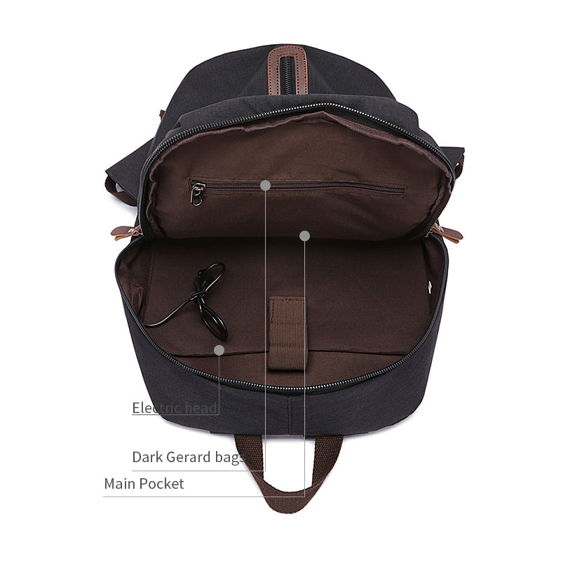 MCP022 Hot sale city casual style school backpacks unique design mens laptop bags backpack