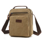 Load image into Gallery viewer, MCP034 Wholesale korea fashion waterproof canvas men small shoulder bag messenger