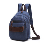 Load image into Gallery viewer, MCP035 Fashion popular design multifunctional waterproof school backpacks canvas backpack men