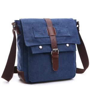 MCP037 2020 New fashion OEM canvas messenger bag shoulder classic men crossbody bags