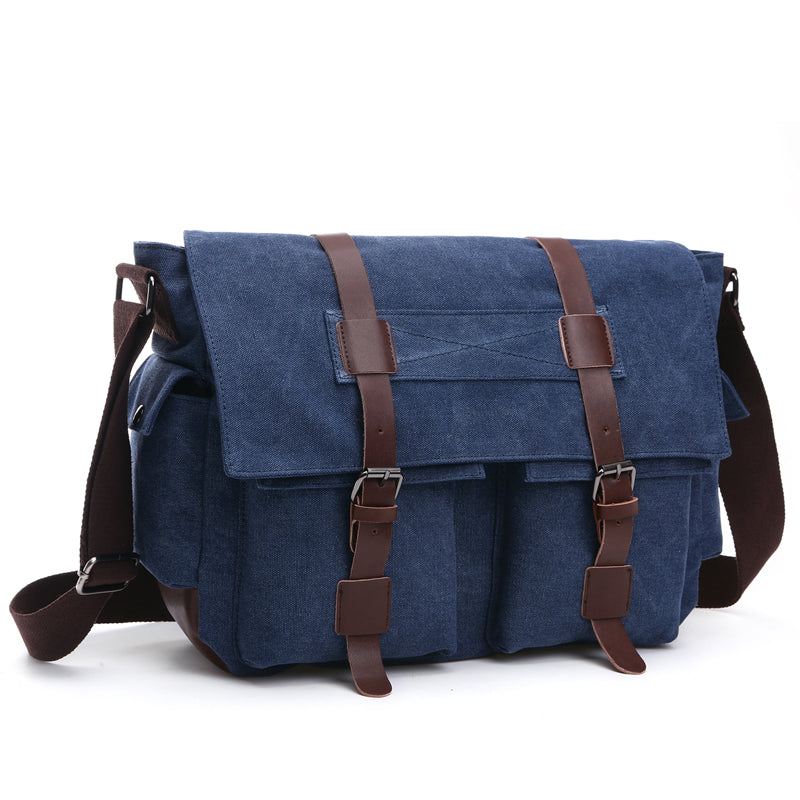 MCP038 Wholesale classic design waterproof canvas leisure sling shoulder bag men bags crossbody