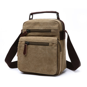 MCP041 Newest high quality men sling shoulder bags canvas messenger bag