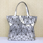 Load image into Gallery viewer, MGD001 New 2020 ladies foldable deformation geometric hologram shoulder bag bulk woman handbags luxury