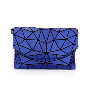 MGD008 New high quality geometric diamond folded shoulder crossbody bags luxury small handbags for women