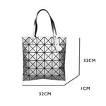 Load image into Gallery viewer, MGD010 Wholesale luxury fashion shoulder bag diamond geometric luminous handbag holographic reflective