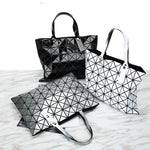Load image into Gallery viewer, MGD021 Wholesale high quality geometric diamond laser pu leather luxury women handbags ladies