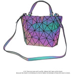 Load image into Gallery viewer, MGD025 Hot sale fashion 2pcs geometric luminous luxury bags women handbags sets