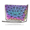 MGD026 Wholesale new design luminous geometric new model purses and ladies handbags set