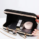 Load image into Gallery viewer, N525 Wholesale high quality woven ladies party bags wedding clutch purses evening handbag