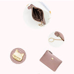 Load image into Gallery viewer, W399 Hot fashion cute pu leather women purses ladies zipper wallet private label