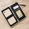 W428 Guangzhou factory coin card holder purse phone case travel cute wallets for women